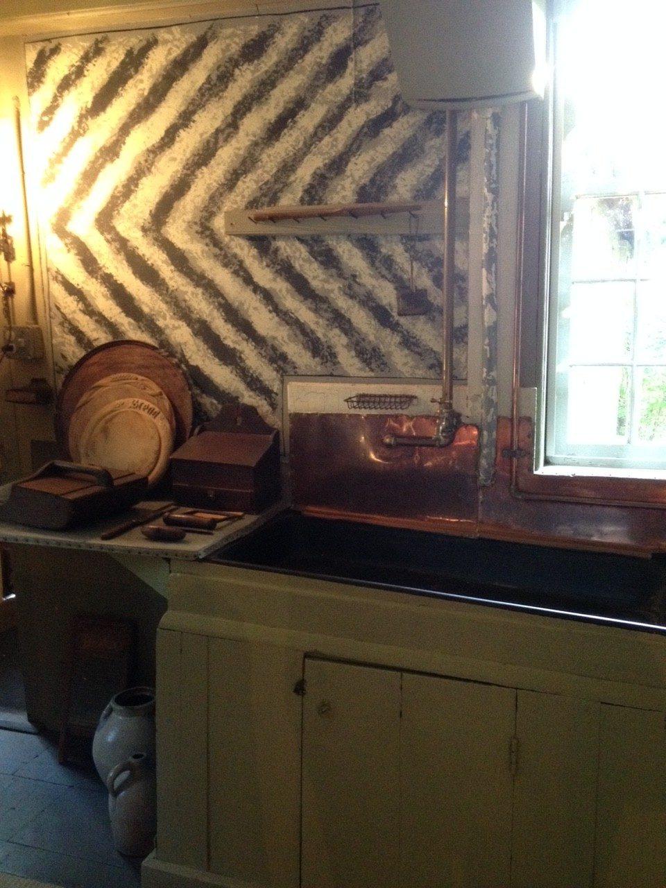 Colonial Chevron, Old Manse kitchen