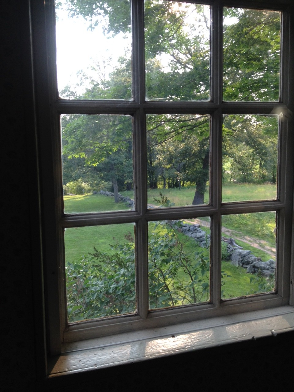 Study Window, Old Manse