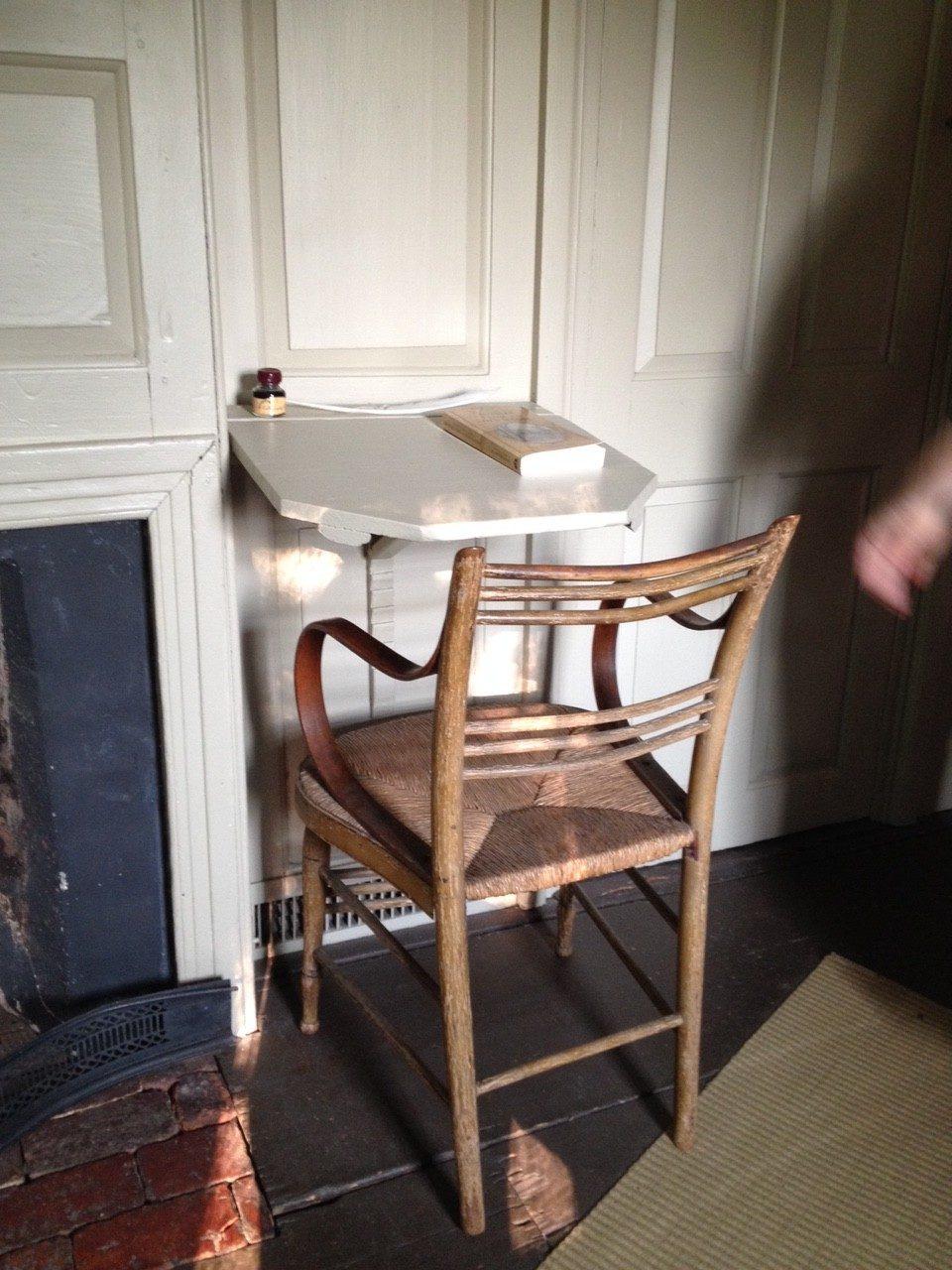 Ratcheted Writing Desk, Old Manse