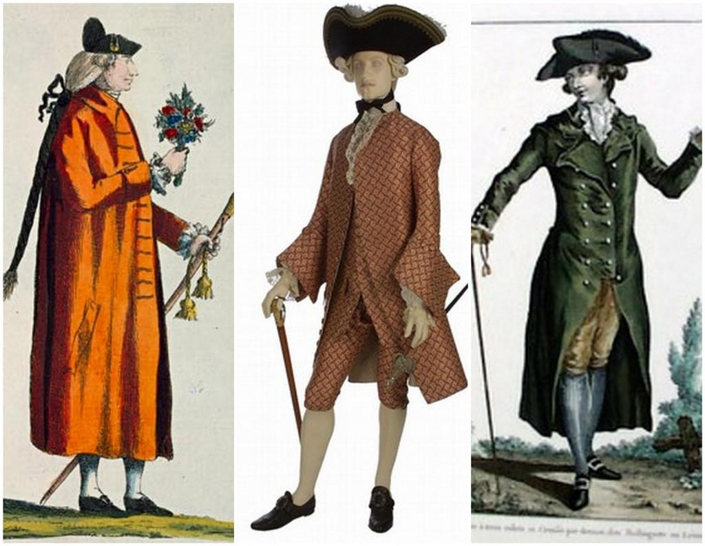 men's suits 1700s