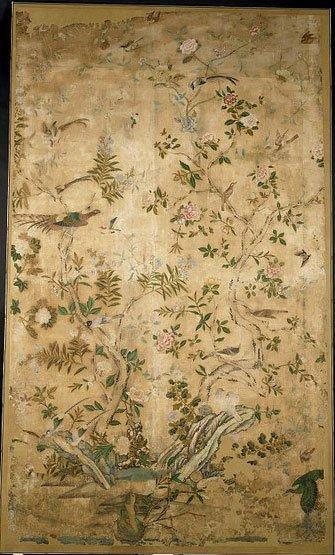 Chinese wallpaper panel