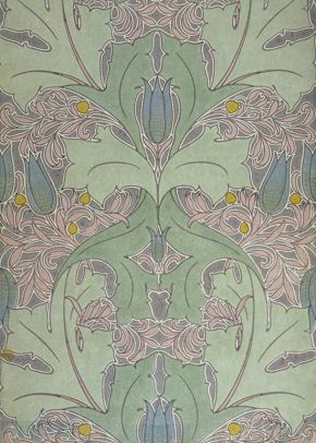 Voysey wallpaper art nouveau