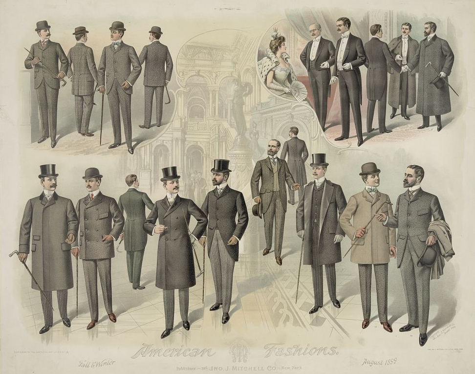 men's suits 1899