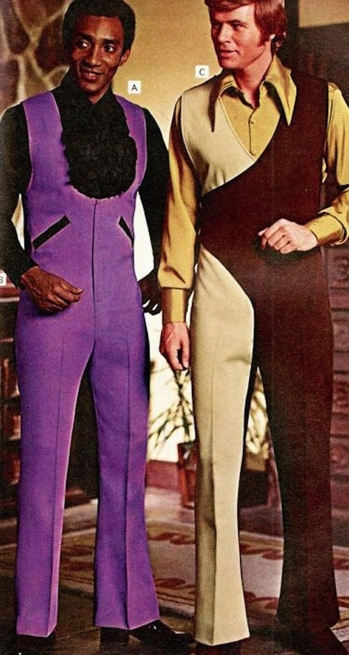 men's jumpsuits 1970s