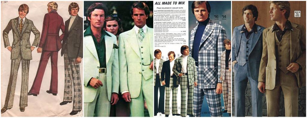 men's suits 1970s