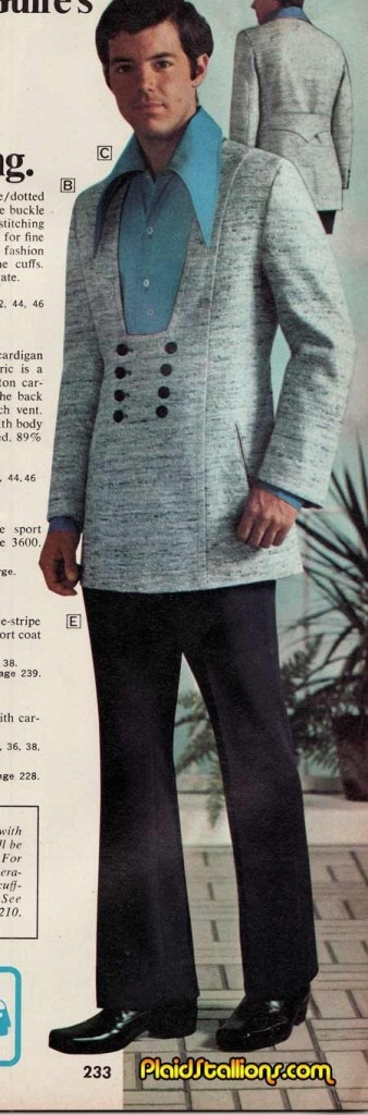 men's suit 1970s crazy