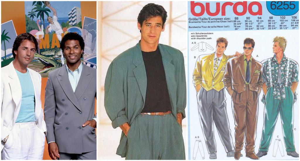 men's suits 1980s