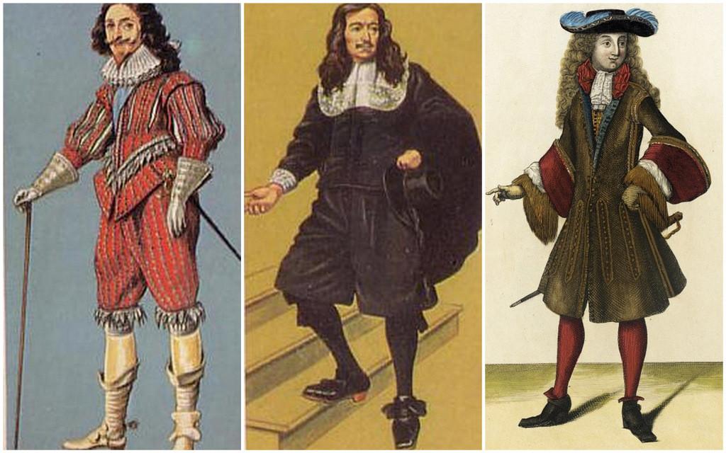men's suits 1600s