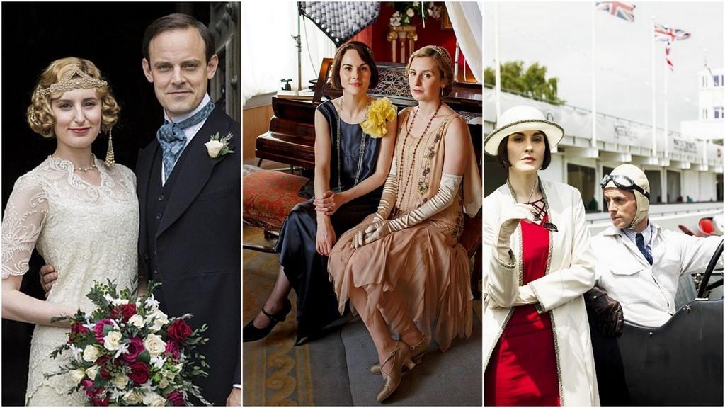Downton Mary, Edith, Berty, Henry