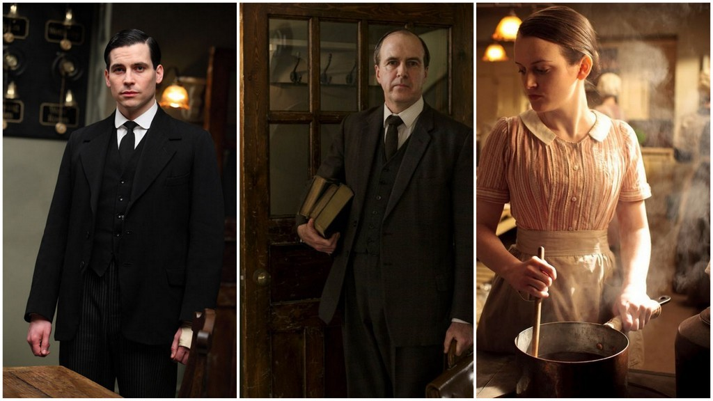 Downton Barrow, Molesley, Daisy