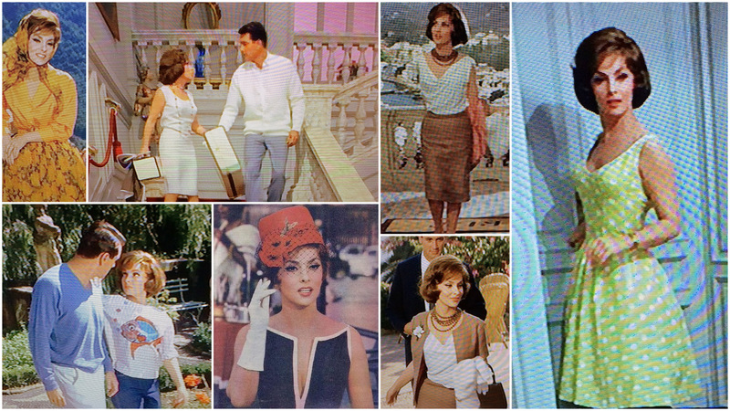 Come September Gina Lollobrigida fashions