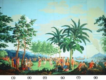 wallpaper mural french