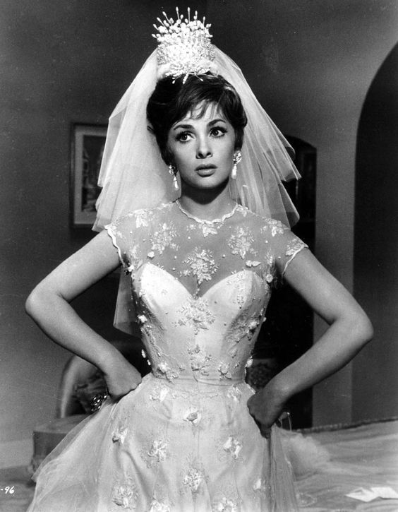 Come September Gina Lollobrigida wedding dress