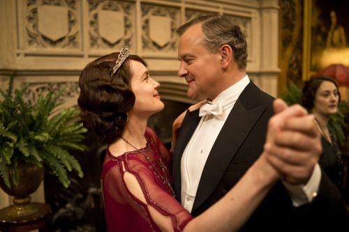 Downton Cora and Robert