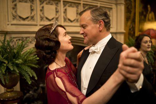Downton Cora and Robert