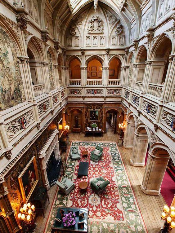 Downton atrium