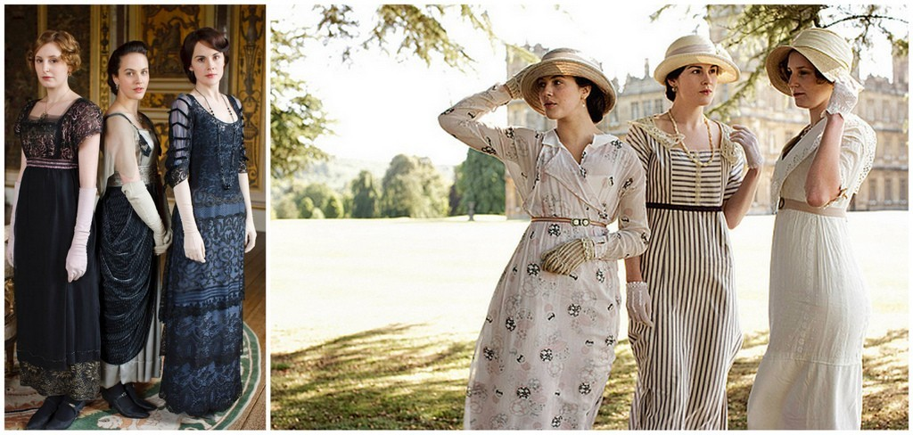 early Downton fashion