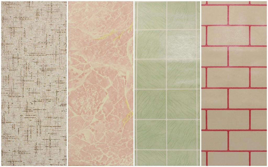 Faux surface wallpaper 1930s-40s