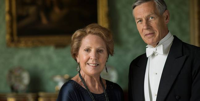 Downton Isobel and Dicky