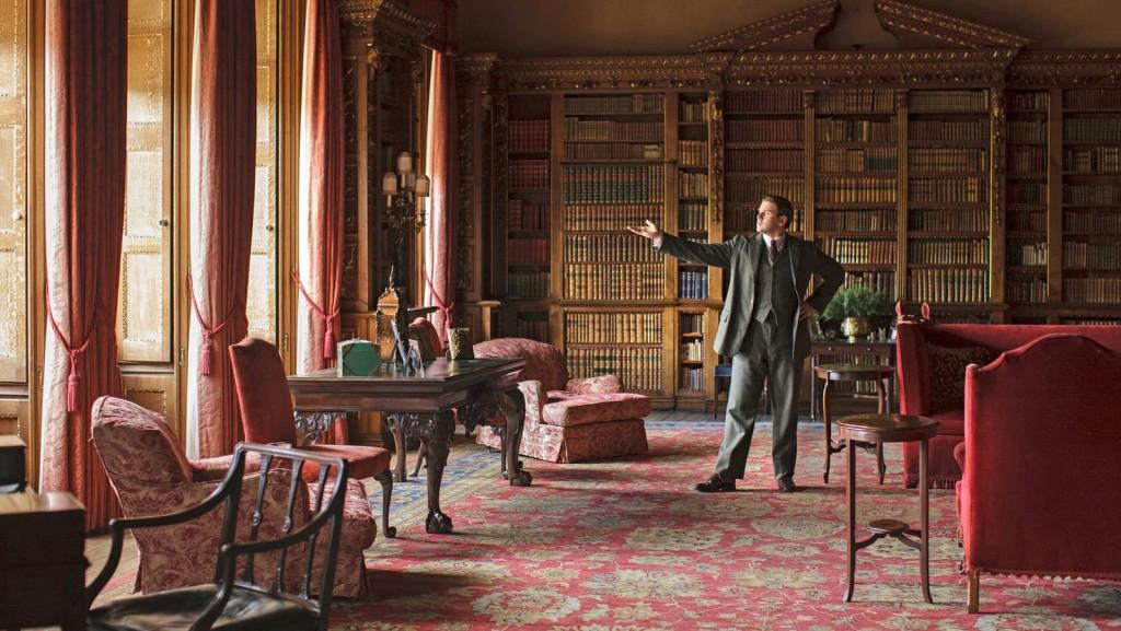 Downton library