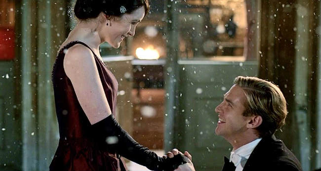 Downton Matthew and Mary proposal