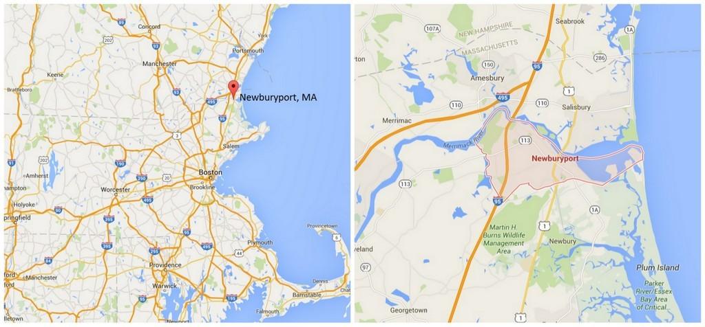 Newburyport MA maps