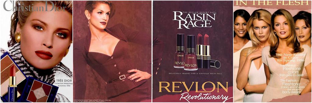 1990s makeup ads