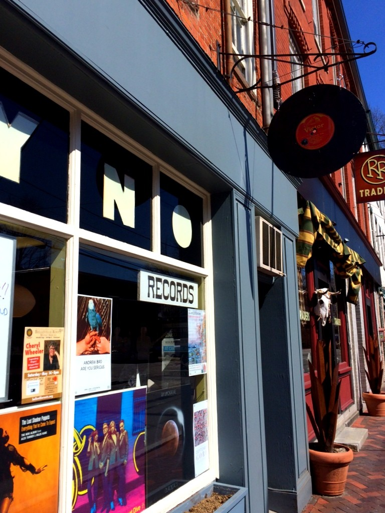 Record shop, Newburyport MA