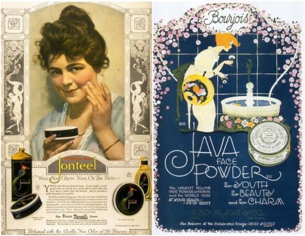 1900-1919 makeup ads