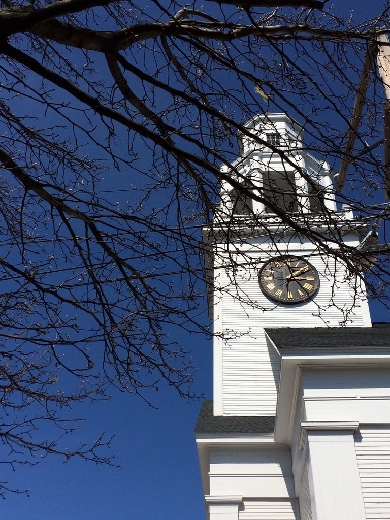 church steeple, Newburyport MA