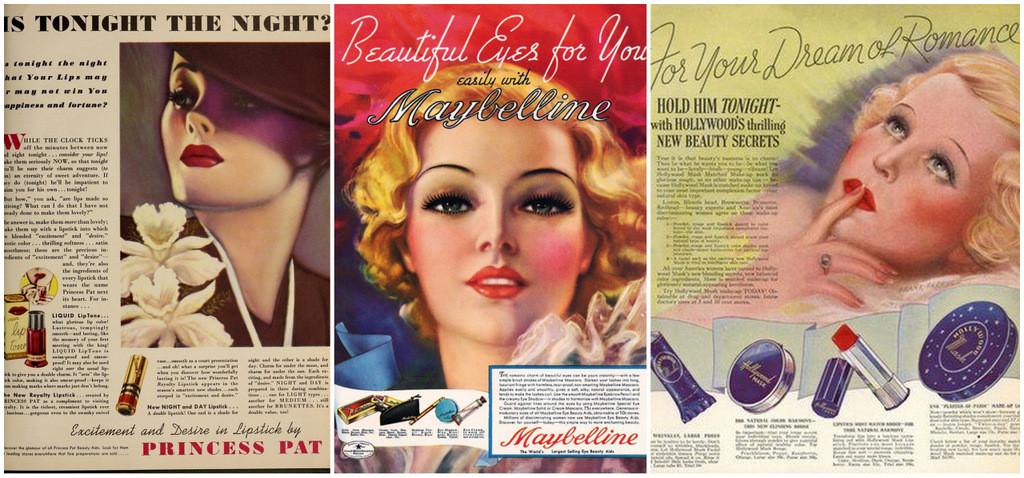 1930s makeup ads
