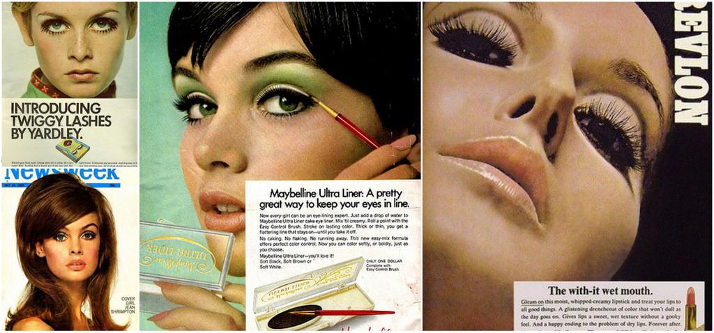 1960s makeup ads
