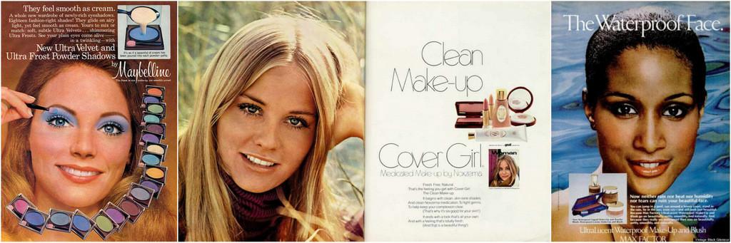 1970s makeup ads