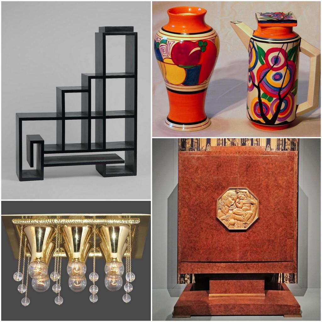 Art Deco smalls, furniture