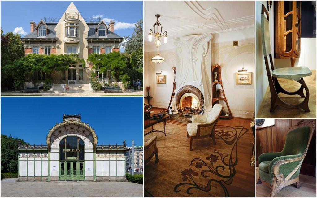 Art Nouveau Architecture, interior