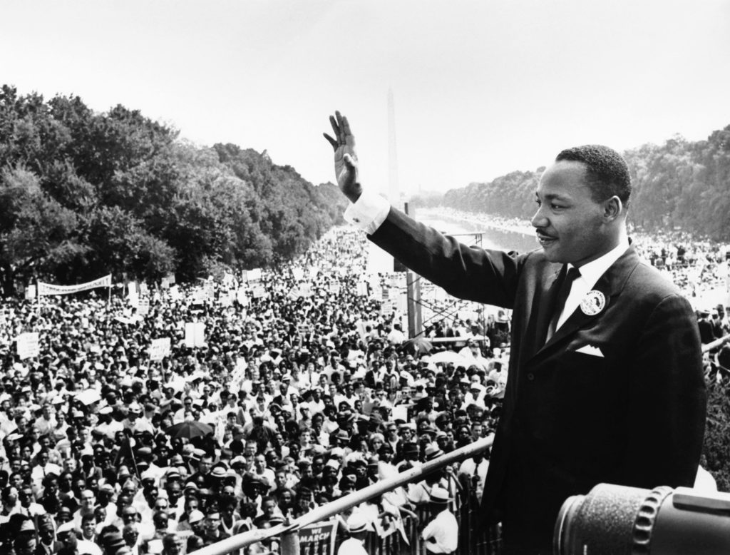 Dr. Martin Luther King, Jr. in DC