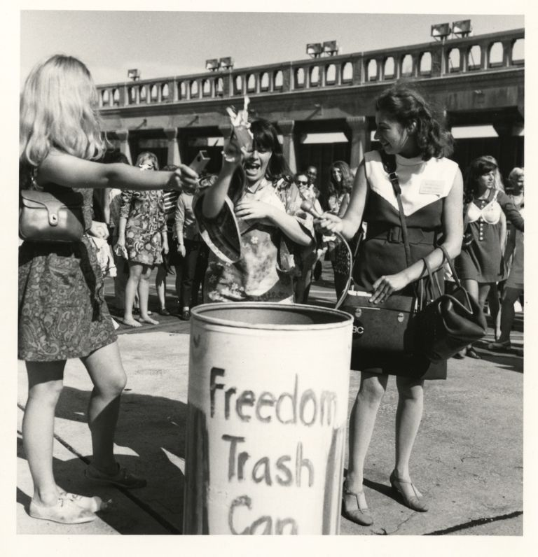 Miss America protest, Freedom Trash Can