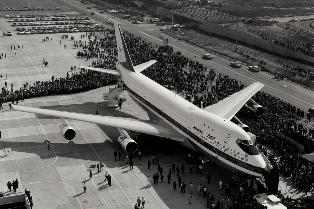 Boeing 747 viewing