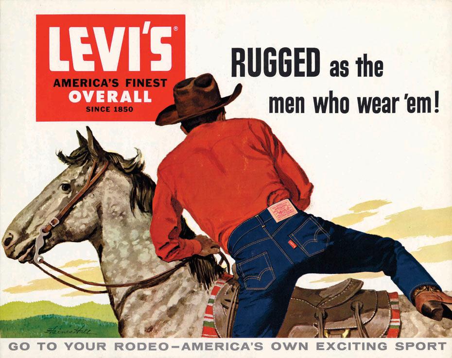 Levi's Cowboy ad