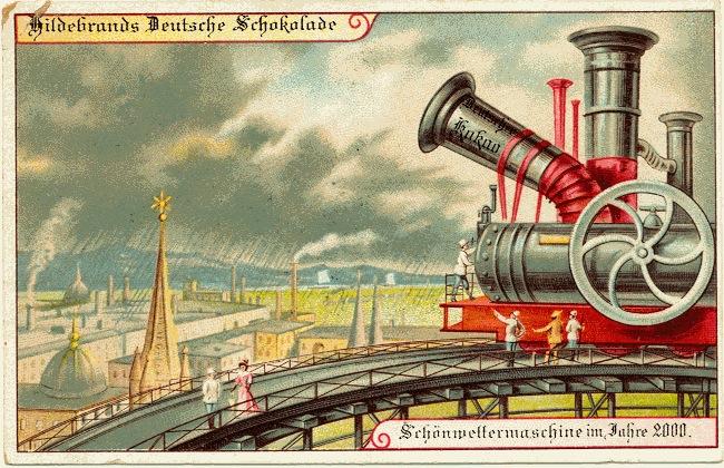 weather machine, retrofuturism