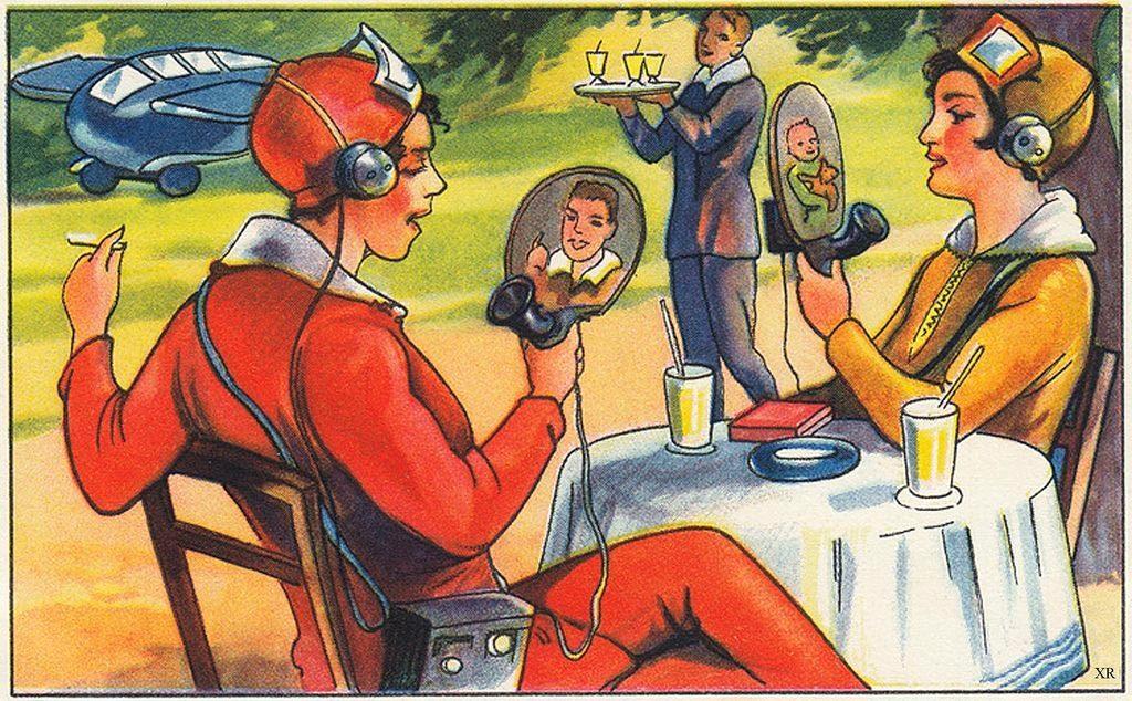 1930s facetime, retrofuturism