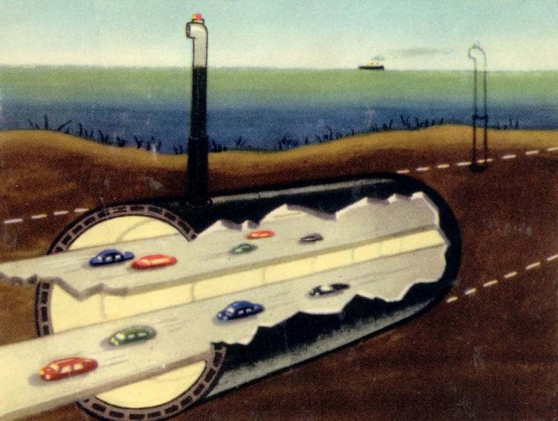 1950 Chunnel, retrofuturism