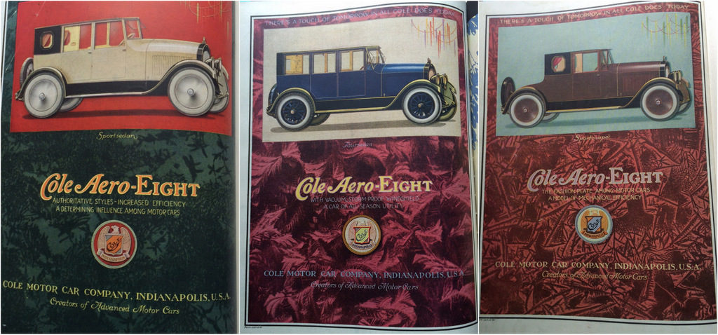 Cole auto ads 1920