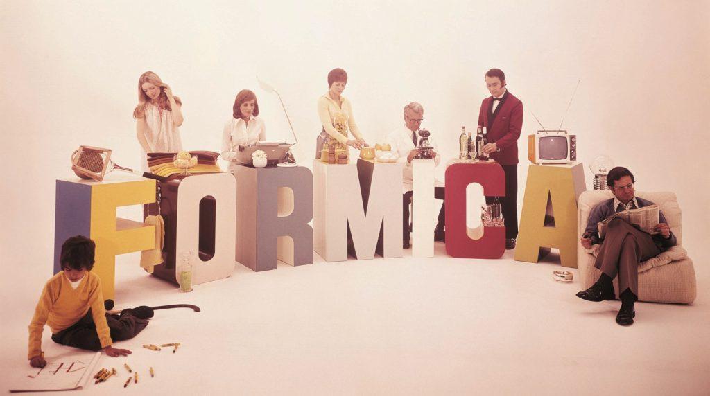 Vintage Formica ad photo
