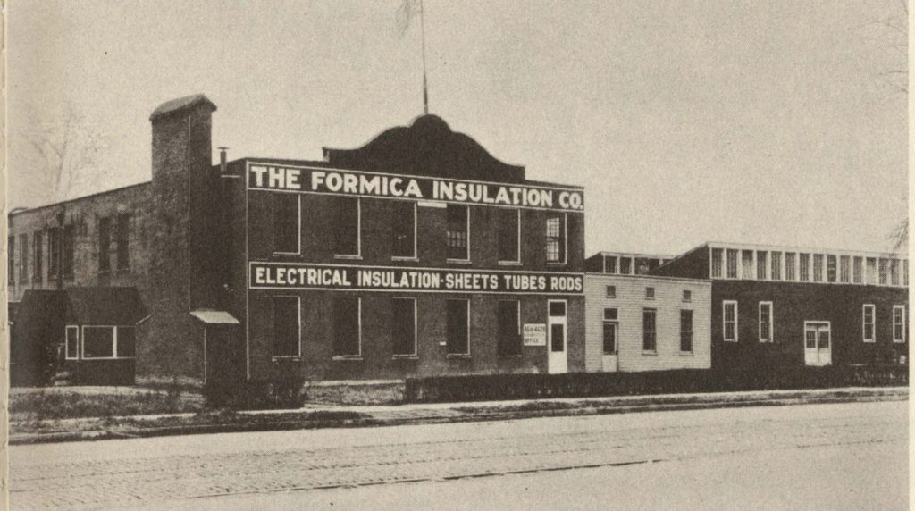 Formica Insulation Co. plant