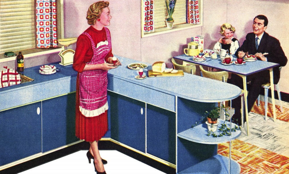 Fomica Kitchen 1950s