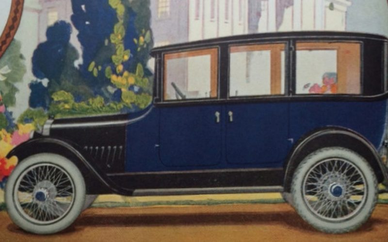 AUTO ADVERTISING IN 1920