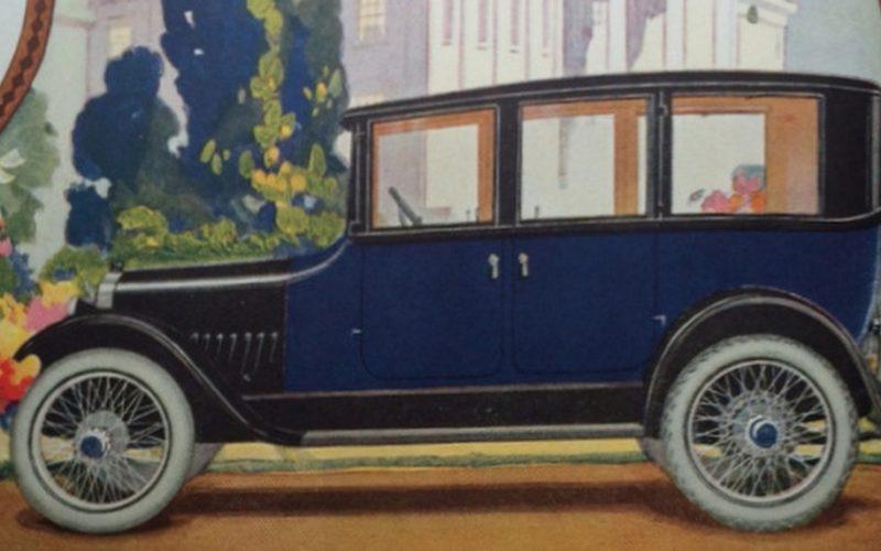 AUTO ADVERTISING IN 1920