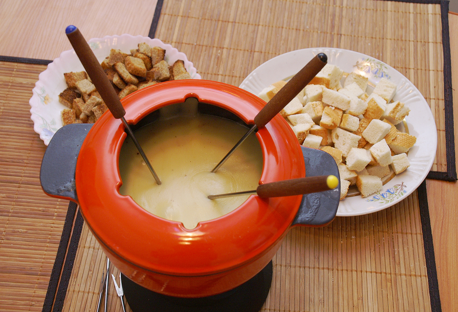 70's food, fondue set
