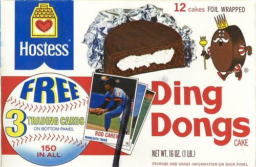 70's food, Ding Dongs